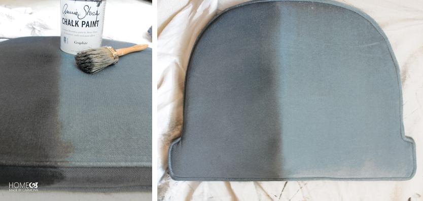 Painted-cushion