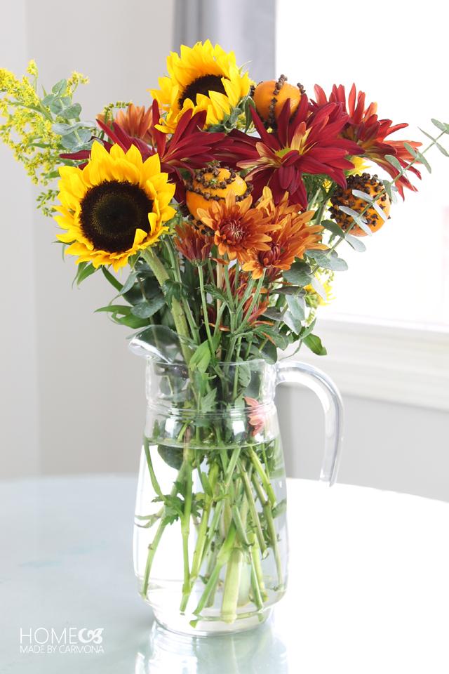 Pomanders - Flower Arrangement