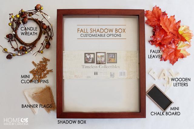 Shadow-Box-Materials