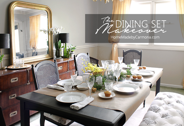 The Dining Set Makeover