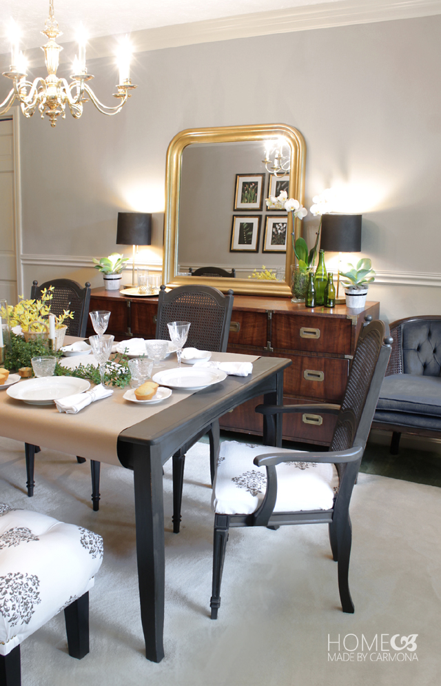 The Painted Dining Room Set