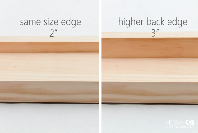 Equal edge vs higher edge