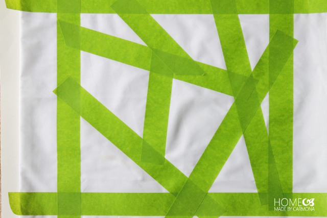 FrogTape geometric design