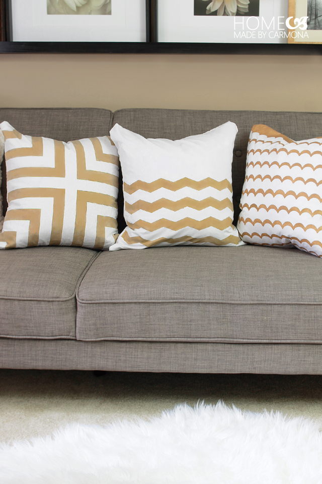 How To Make $5 Throw Pillows
