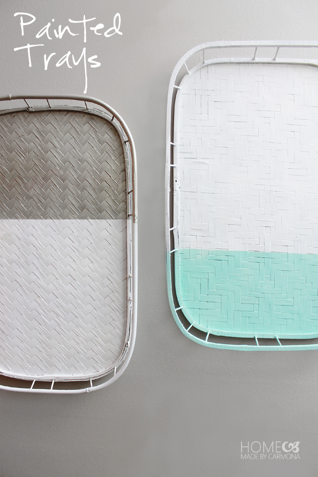 Paint Trays for a contemporary twist