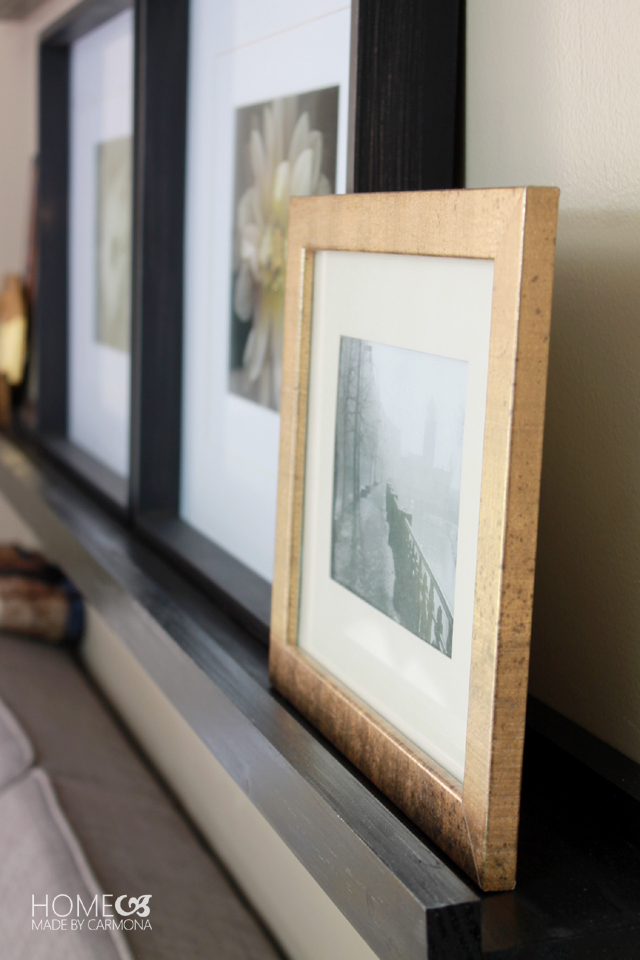 Picture Frame Ledge side