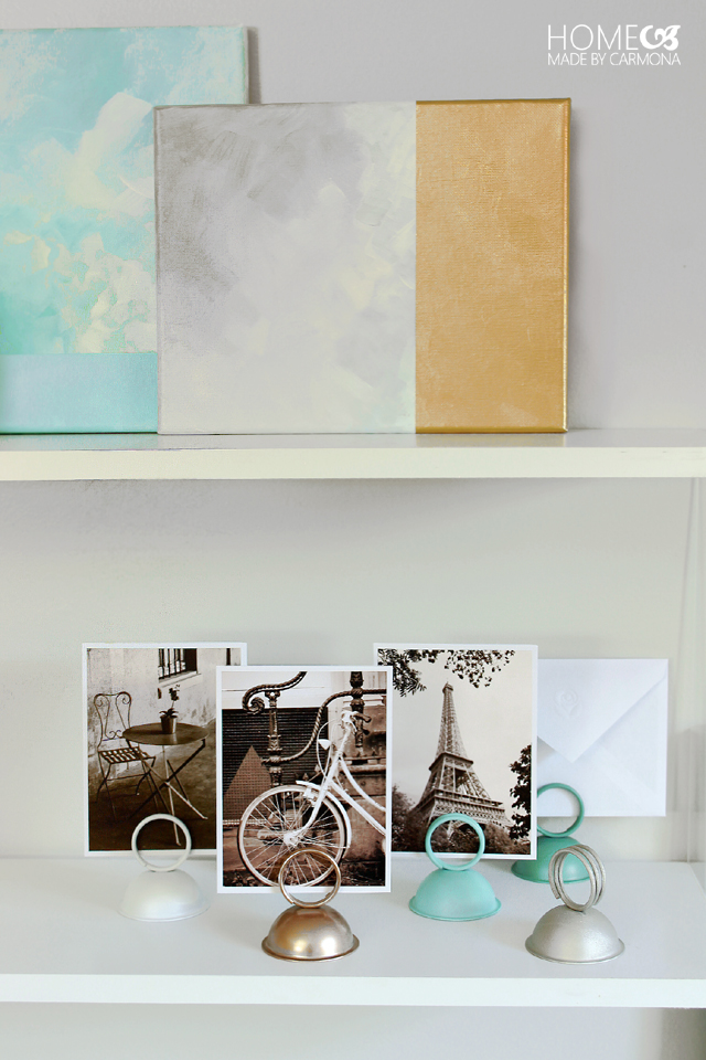 DIY Picture card holders