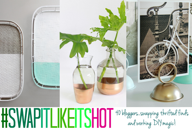 Swap It Like Its Hot -thrifty finds series