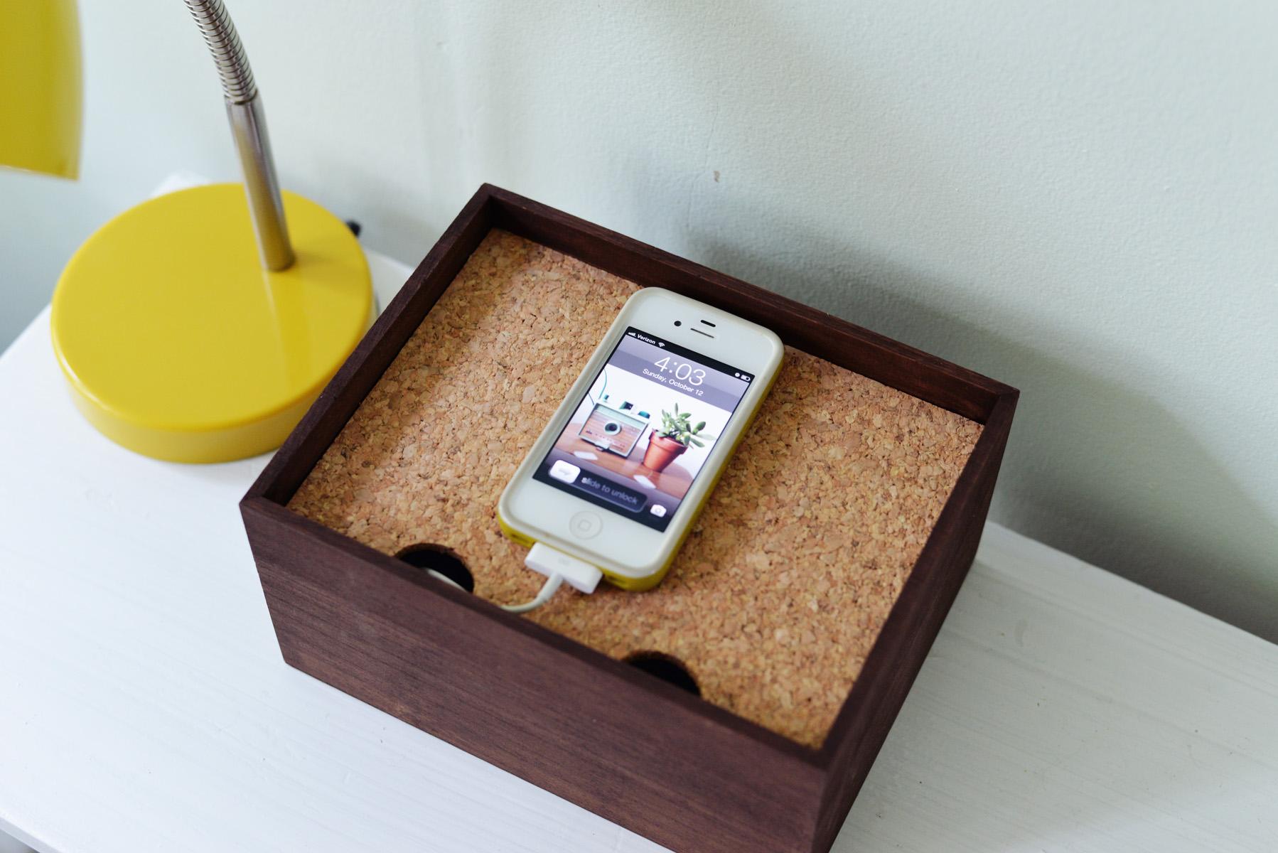 handmade-charging-station