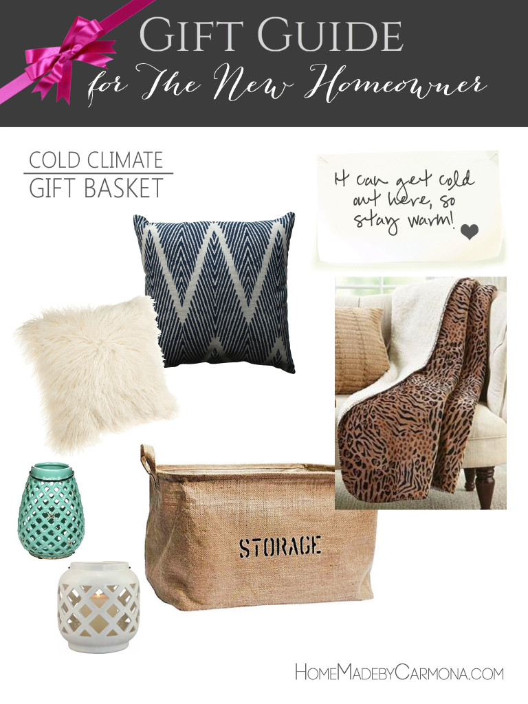 Gift Guide for the new Homeowner - Cold Climate gift basket