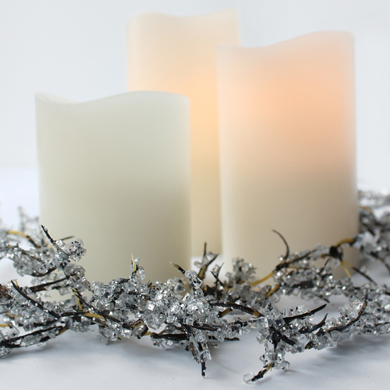 Battery powered candles - 550