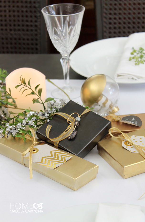 Christmas Eve table gifts
