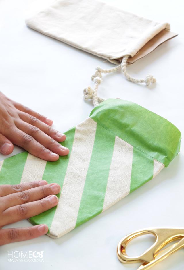 Designing drawstring bags