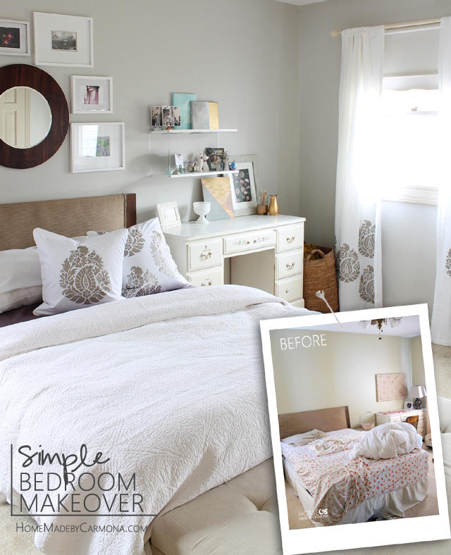 Simple Bedroom Makeover