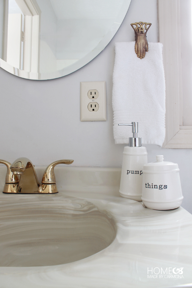 BHG Bathroom organizing products