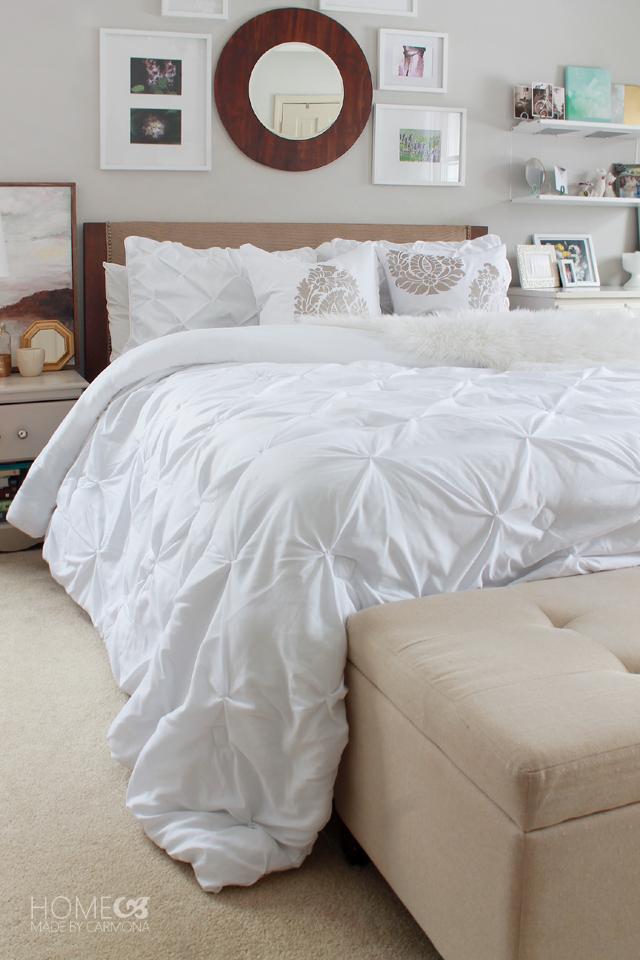 BHG Pintuck Comforter