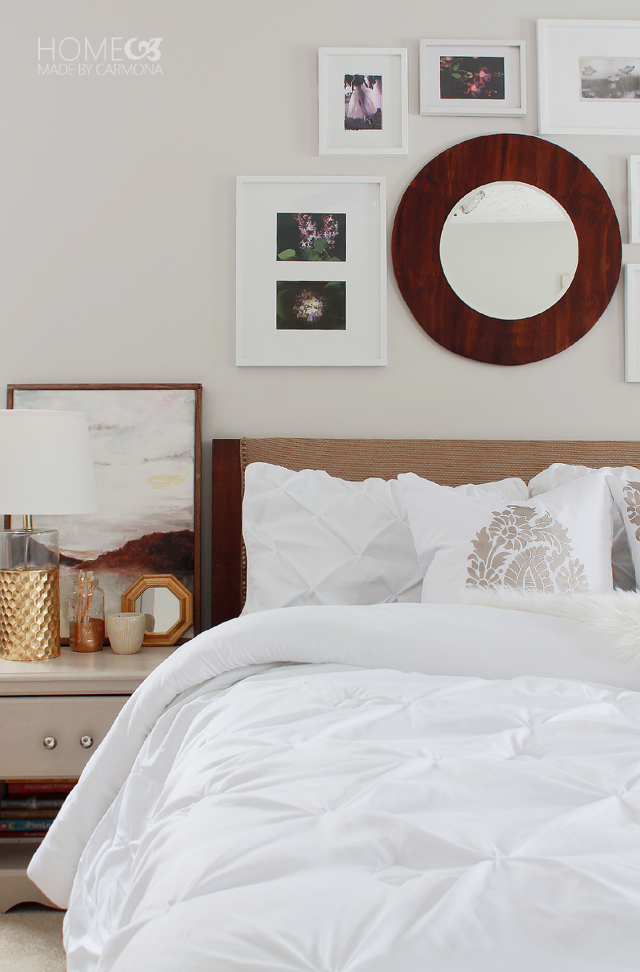 Bedroom Refresh - pintuck bedding