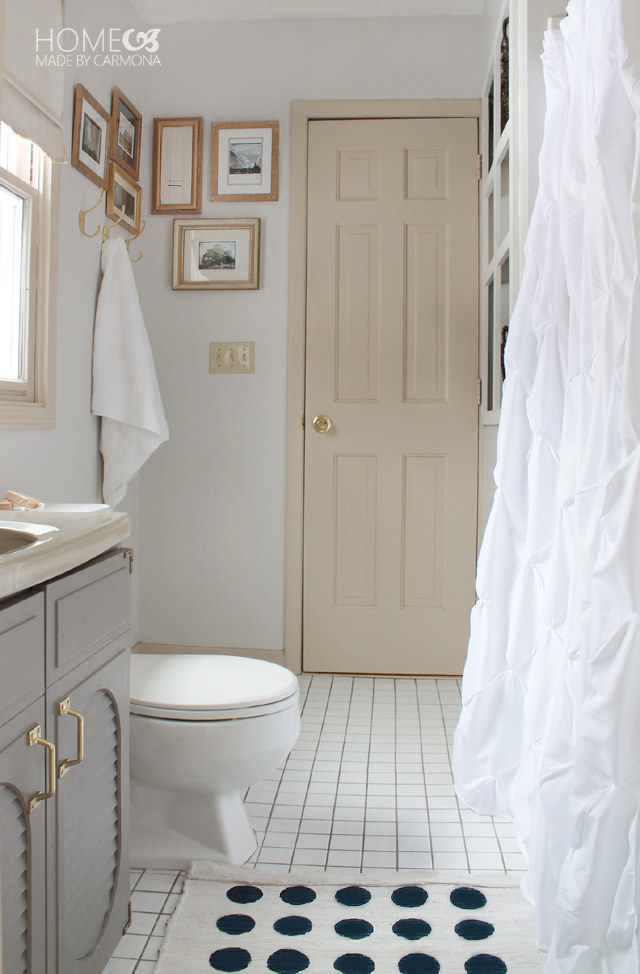 Light and Bright Bathroom Refresh