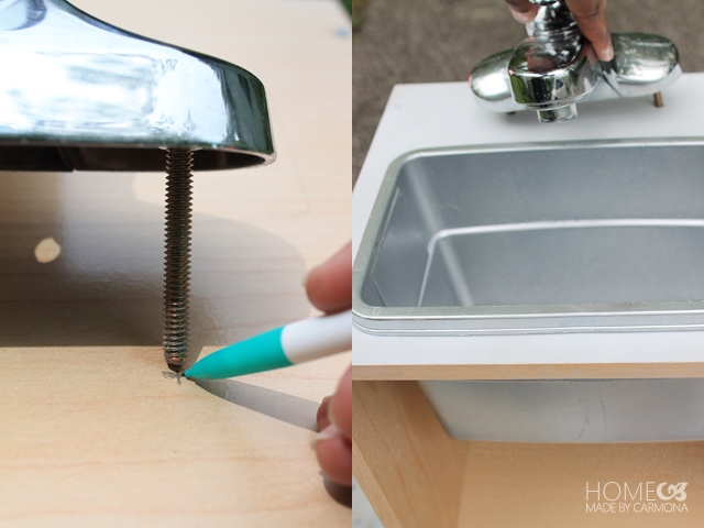 Play Kitchen - faucet