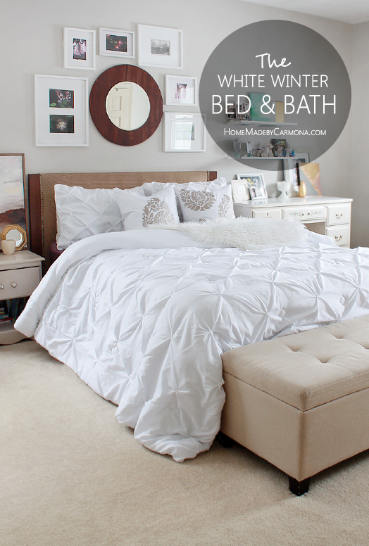 The White Winter Inspired Bed & Bath Refresh