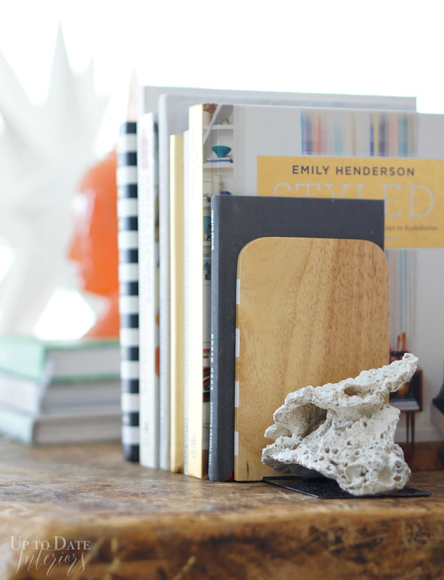 How To Make DIY Coral Bookends | Up To Date Interiors