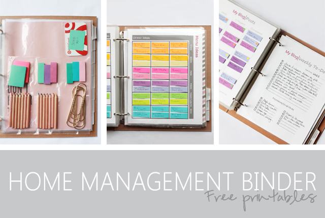 Home Management Binder - featured image