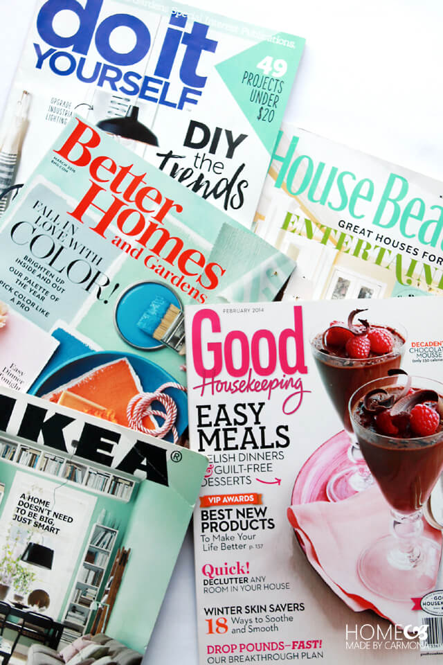 Favorite things - Magazines
