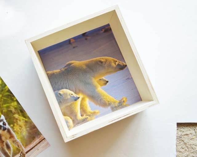 Frugal photo cubes - This Design Journal