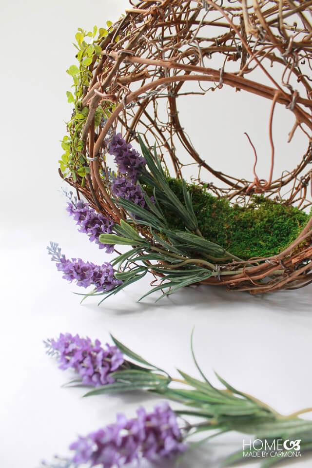 Grapevine Peekaboo Wreath