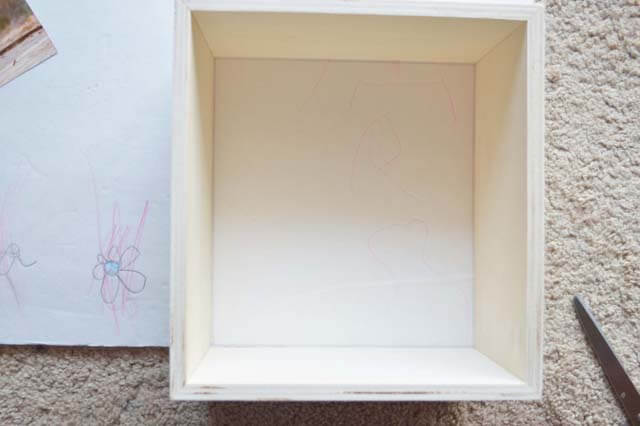 make cute photo cubes with shadow boxes