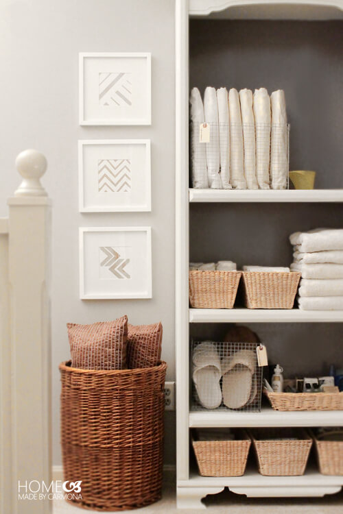 Bookcase-Linen-Closet