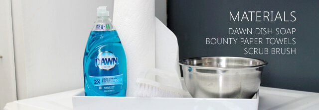 Cabinet Cleaning Materials