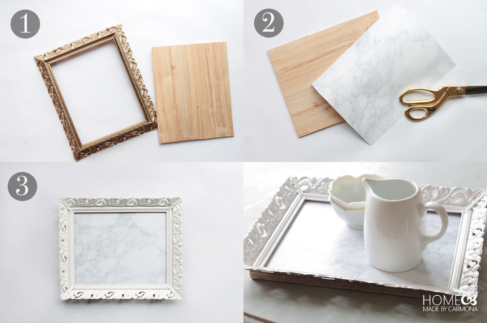 Picture Frame to Marble Tray