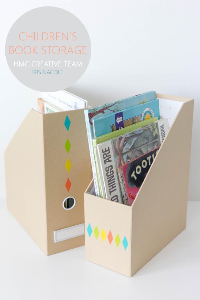 Children's Book Storage - Iris Nacole