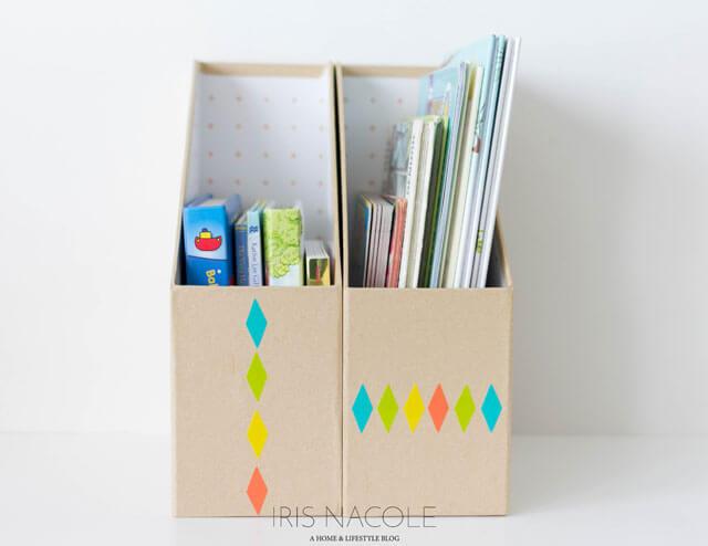 Cute-Children's-Book-Storag