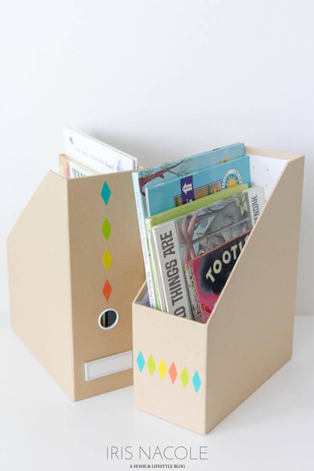 DIY-Childrens-Book-Storage