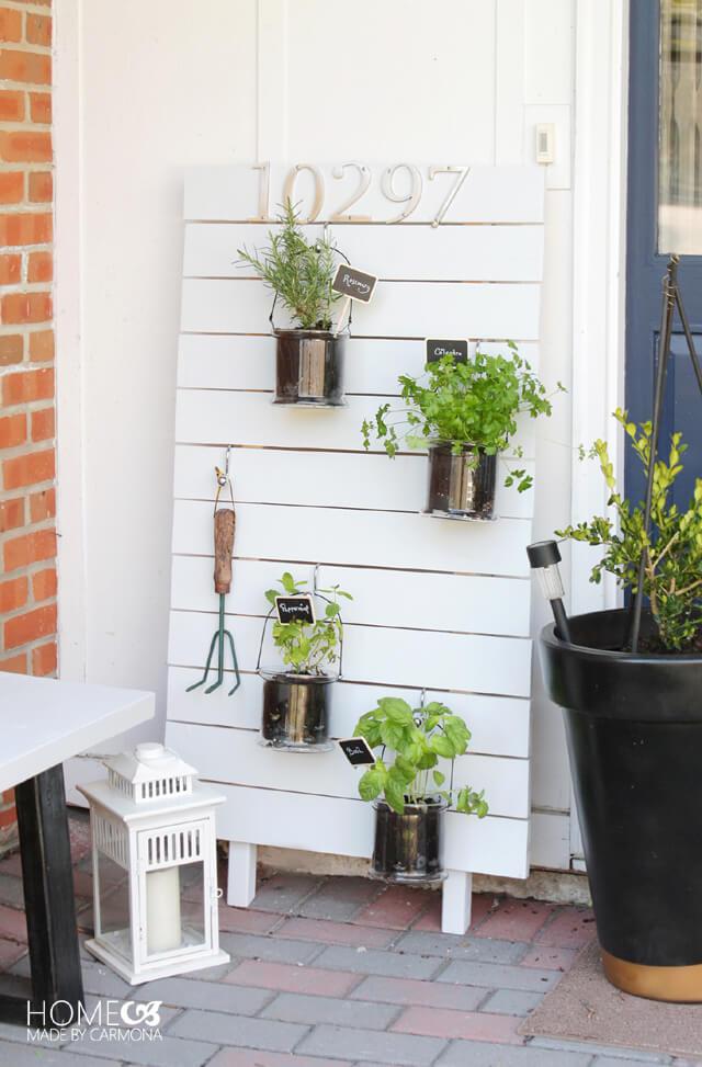 DIY Vertical Hanging Garden