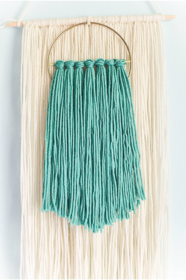 Easy Fiber Wall Hanging