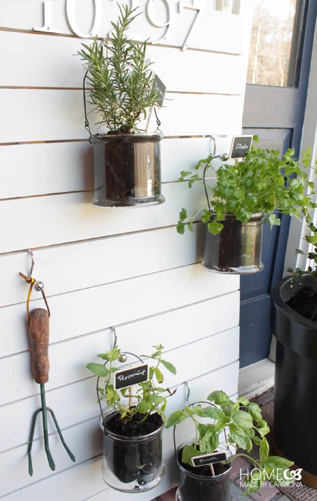 Vertical hanging garden - easy diy