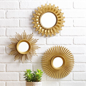 BHG 3 piece mirror - 300