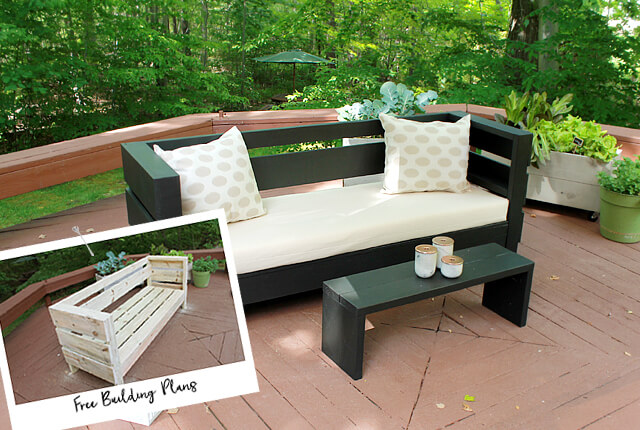 Outdoor DIY Sofa - Featured image