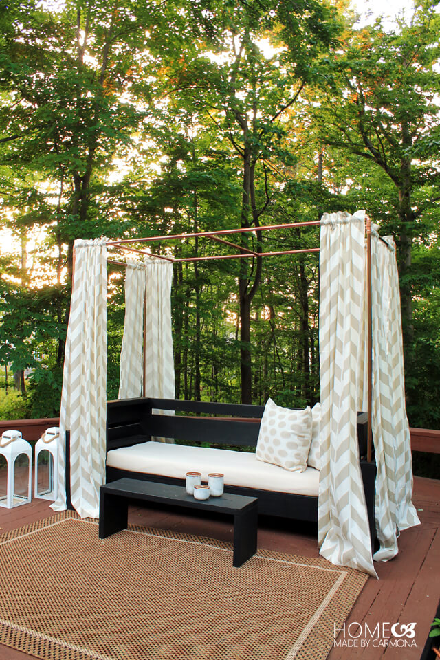 DIY Copper Cabana