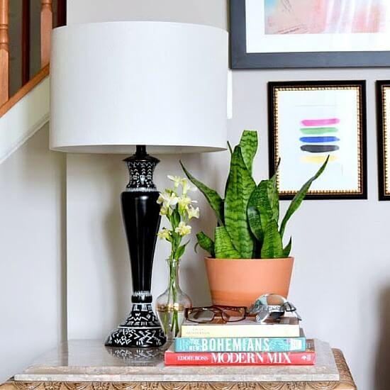 DIY-Mud-Cloth-Lamp