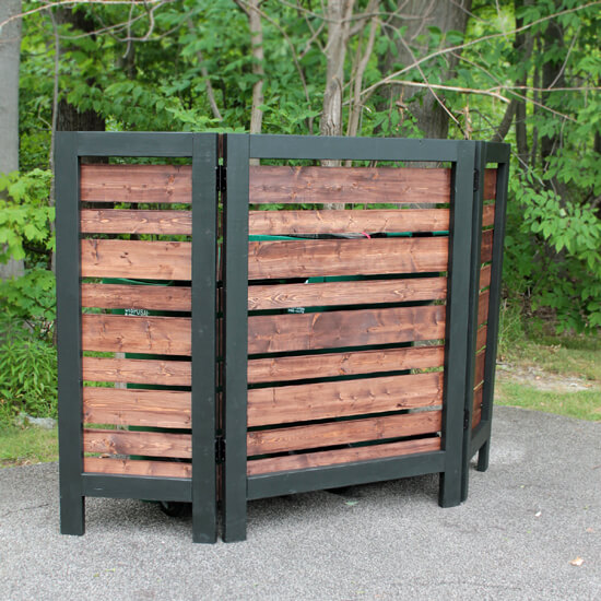 Garbage Can Privacy Screen - 550