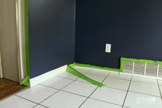 Kitchen paint-over for durability