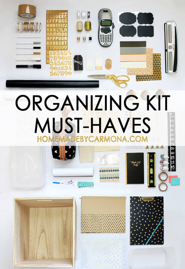 Organizing Kit Must-Haves