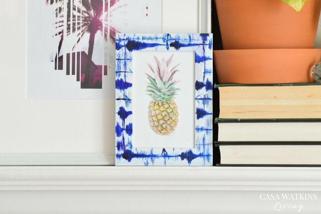 how-to-paint-faux-indigo-shibori-on-frames