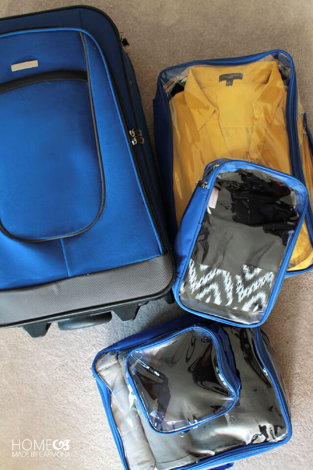 EzPacking Cubes for travel