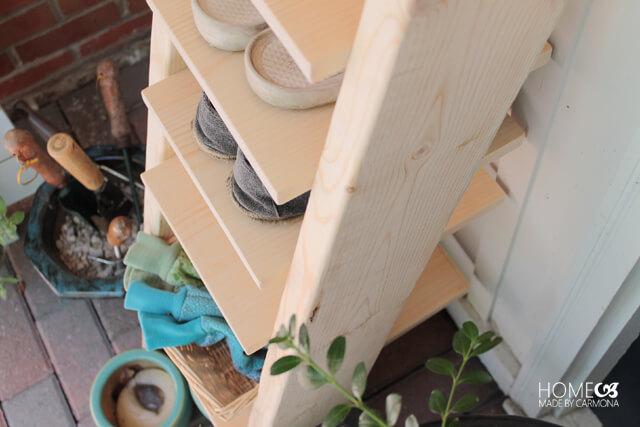 Make-it-yourself Ladder Shelf