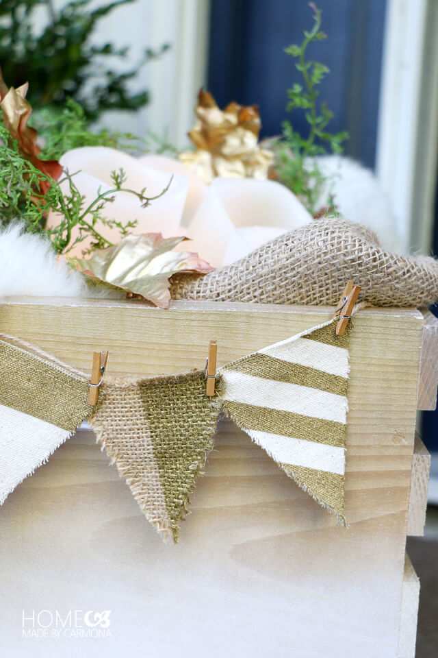 decorative-wheelbarrow-burlap-bunting